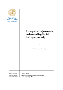 An explorative journey in understanding Social