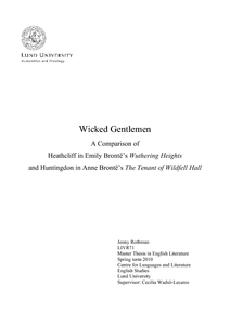 Wicked Gentlemen: A Comparison of Heathcliff in Emily Brontë's