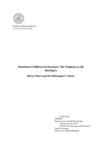 Orphans in literature?