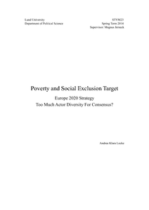 TOPICS IN MEASUREMENT: MULTIDIMENSIONAL POVERTY AND
