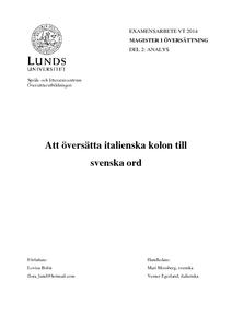 Italienska svenska ordbok online dating