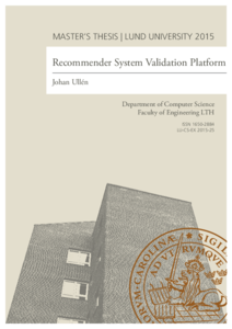Recommender System Validation Platform
