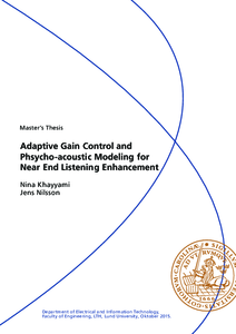 Automatic Gain Control and Psychoacoustic Modeling for Near