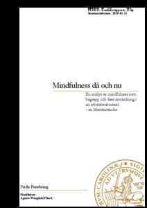 litteratur om mindfulness