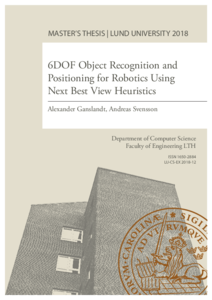 6DOF Object Recognition and Positioning for Robotics Using Next
