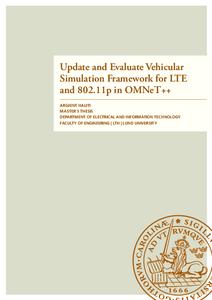Update and Evaluate Vehicular Simulation Framework for LTE