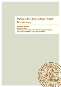 Optimized Codebook Based Hybrid Beamforming