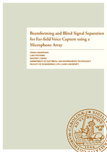 Beamforming and Blind Signal Separation for Far-field Voice