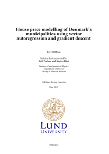 House price modelling of Denmark's municipalities using
